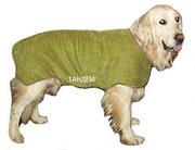 Попонки,  подстилки и полотенца из микрофибры  для  животных от производителя.
